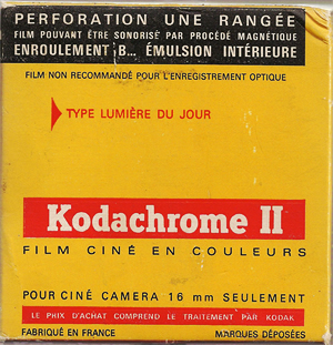 Kodachrome II (16 mm)